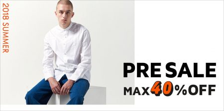 mirabella homme 『SUMMER PRE SALE』 MAX 40% OFF いよいよスタート!