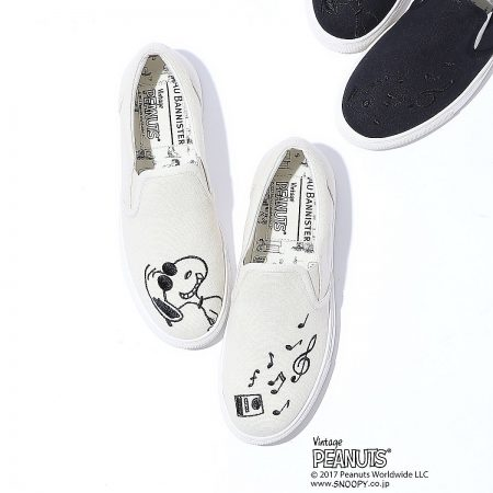 Au BANNISTER/AuBANNISTER×SNOOPYスニーカー/¥11,000+税