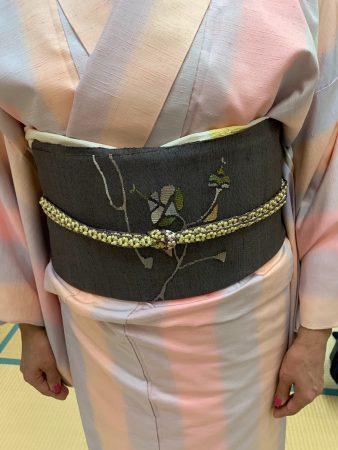 50代後半、小紋や紬の着物をワンピース感覚で着たい!