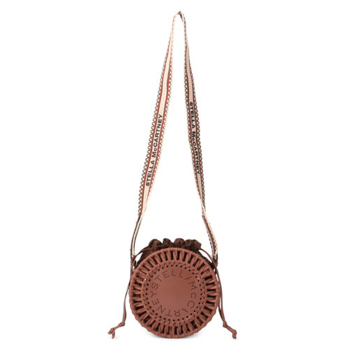 STELLA McCARTNEY/Drawstring Shoulder Bag Eco Al/¥85,000+税