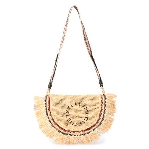 STELLA McCARTNEY  Flap Shoulder Bag Rafia Croche  ¥99,000+税