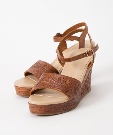 GRACE CONTINENTAL/Wedge Sandal/¥33,000+税