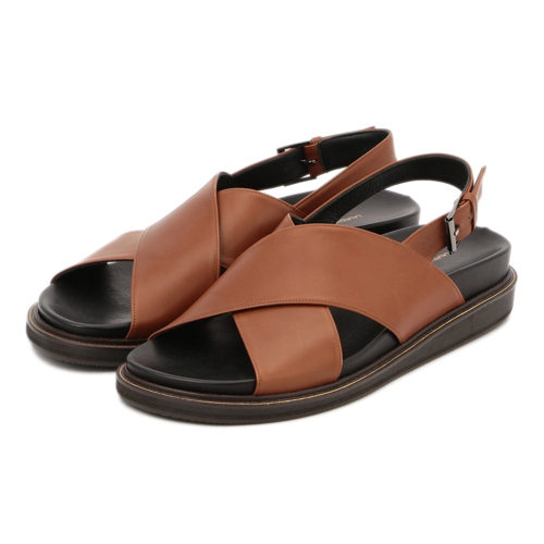 LAURENCE/FB CROSS SANDAL/¥40,000+税