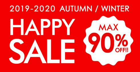 2019-2020 AUTUMN/WINTER HAPPY SALE MAX90%OFF!!
