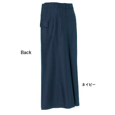 BOUQUET de L'UNE チューリップラインスカート ネイビー
