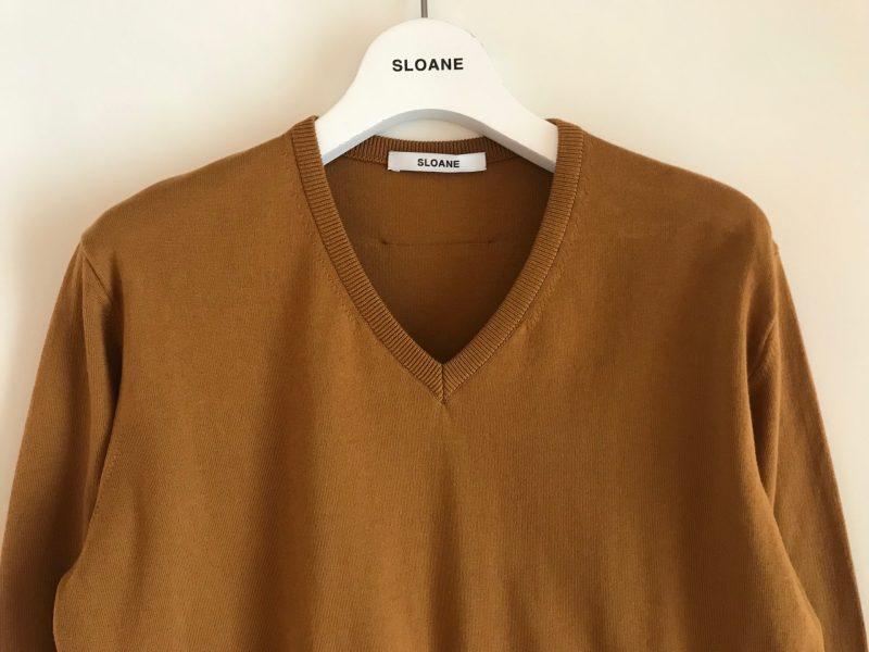 バイヤーが惚れ込んだブランドを徹底取材! BRAND feature 第5回「SLOANE」しなやかにフィットする上質ニット