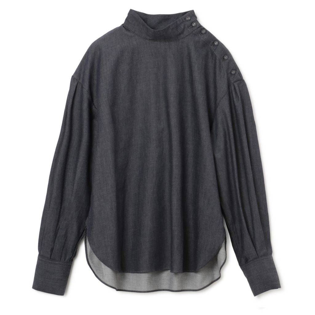 LE CIEL BLEU High Neck Shirt