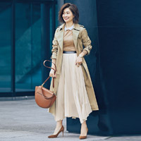 M7days 春めきプリーツスカート