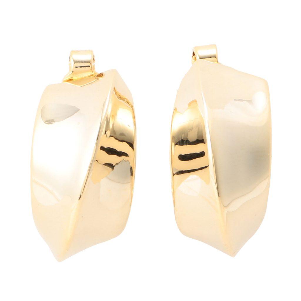 IRIS47 puff earring