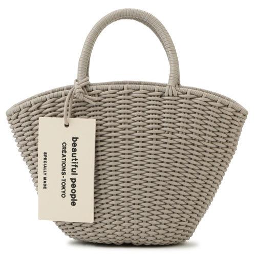 beautiful people/tube knitting basket S/¥20,000+税