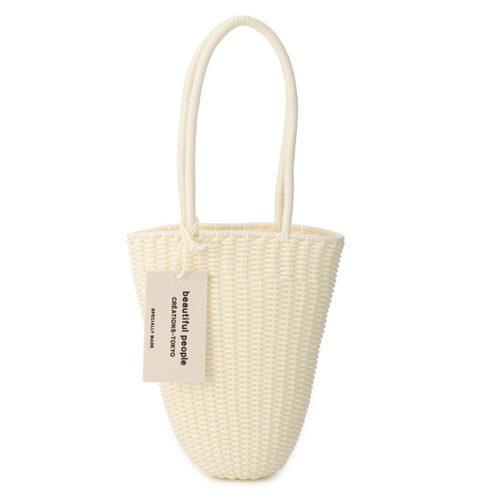 beautiful people/tube knitting basket long/¥22,000+税