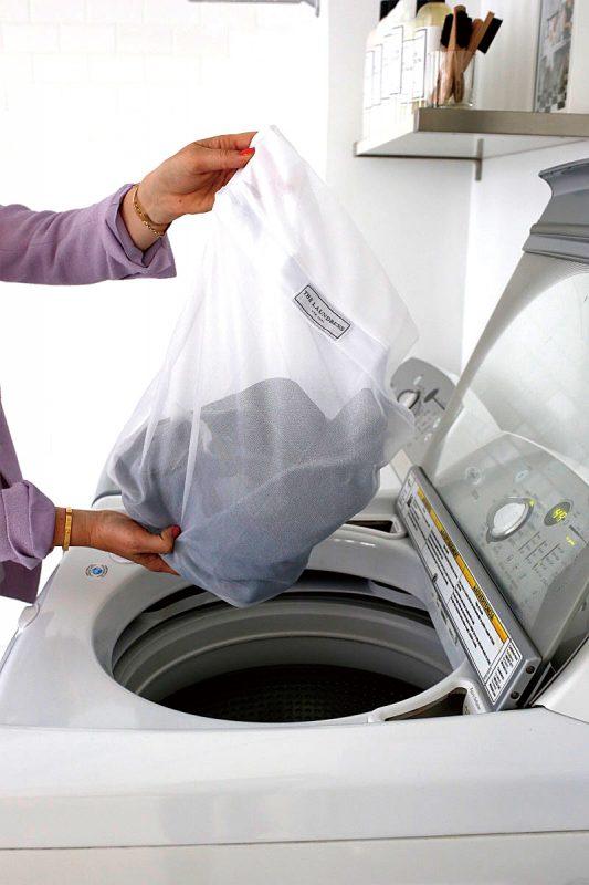 洗濯機で洗うときは…