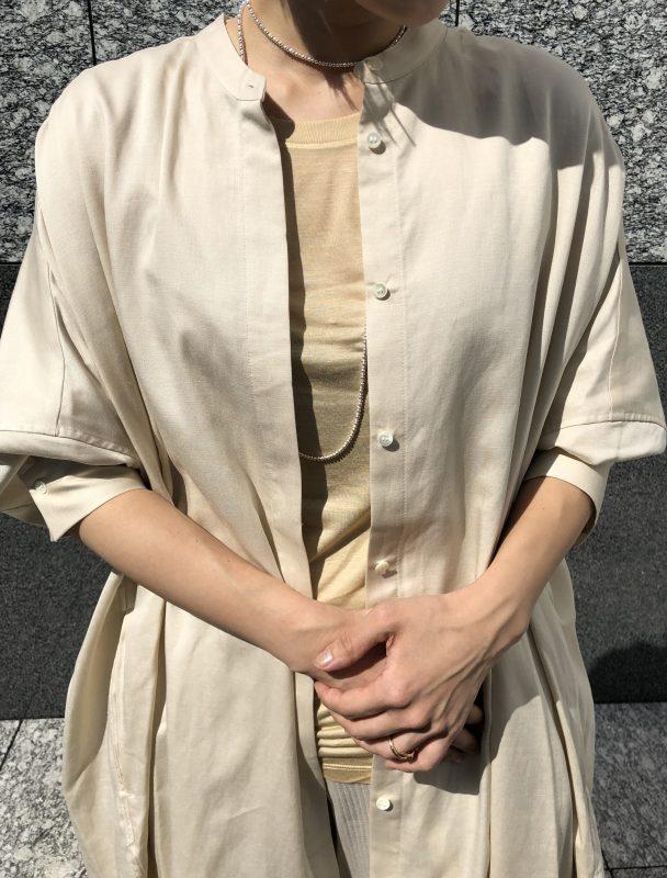 Baserange LOOSE TEE -BAMBOO JERSEY ¥7,000+税