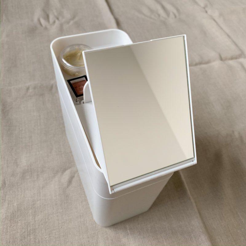 like-it(ライクイット)のメイクボックスの隠れたこだわりポイントが鏡