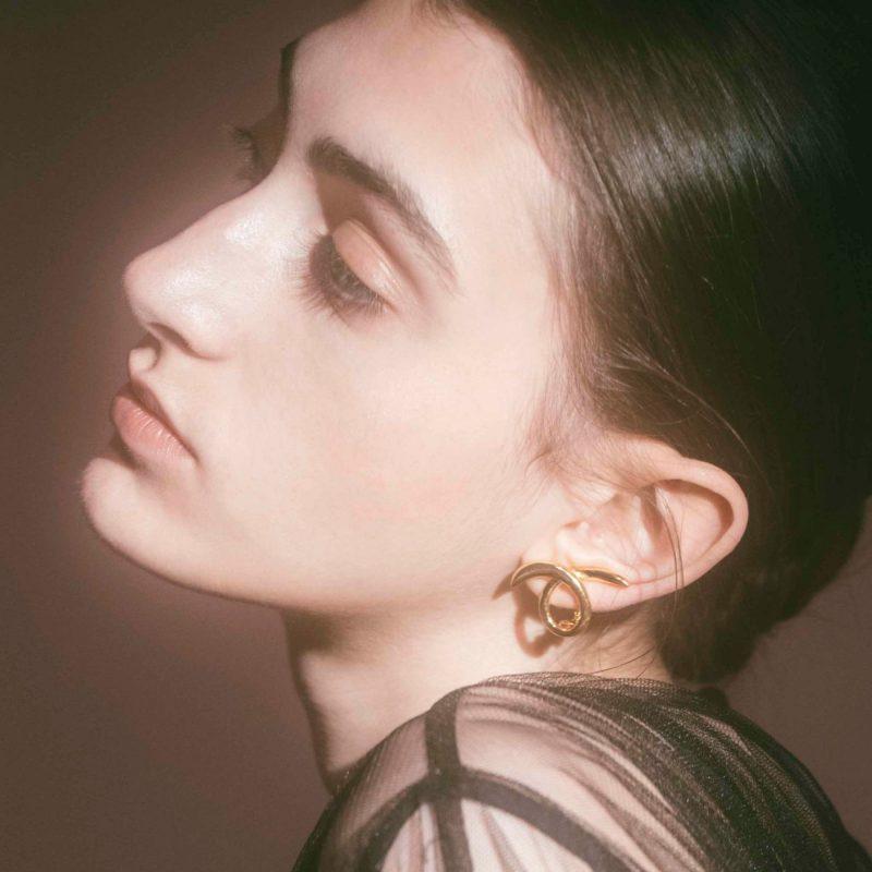 IRIS47 toge earring