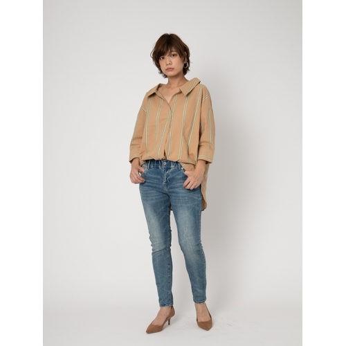oblek/LADYS BOTANICAL COMFY DENIM/¥12,000+税