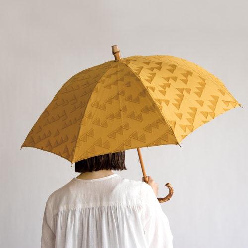RESTFOLK レストフォーク 晴雨兼用傘 ジャガードブラケットライン 15,000円+税