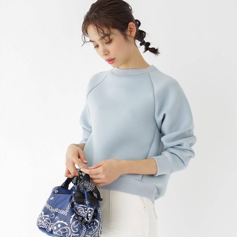aquagirl/エアリーダンボールトレーナー/¥13,000+税