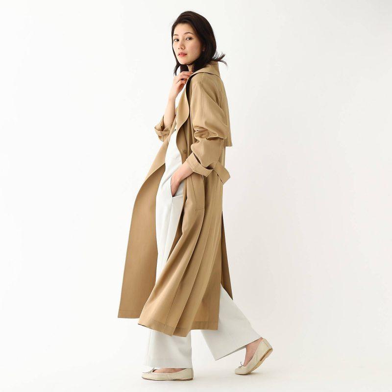 DRESSTERIOR(Ladies)/プラチナホース強撚綿ツイルワッシャーコート/¥45,000+税