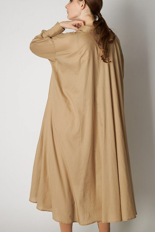 FLORENT/ロングシャツドレス/¥38,000+税