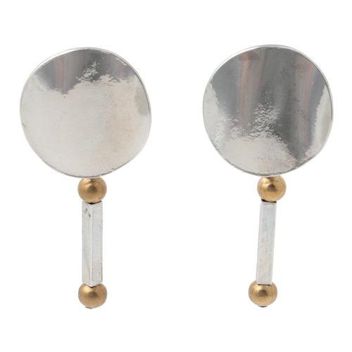 stick earring/IRIS47