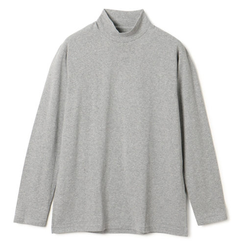 ANATOMICA/MOCK NECK TEE L/S/¥9,000