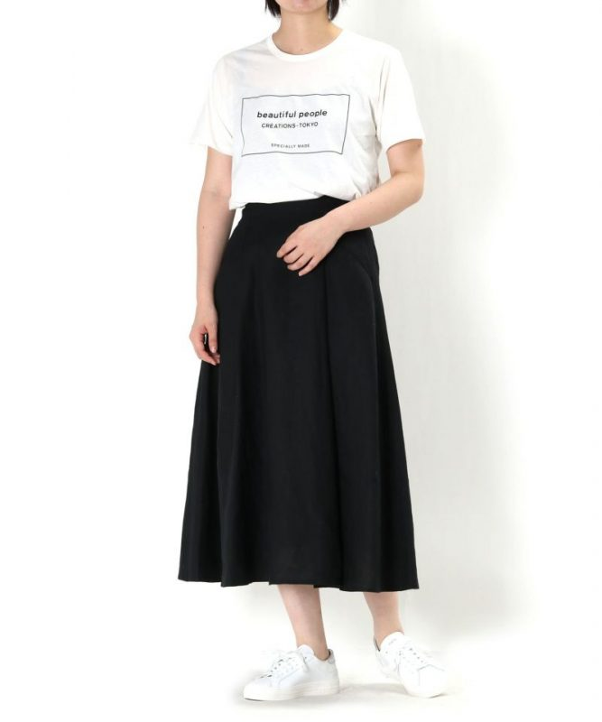 PARIGOT/スタイルアップリネンスカート/¥17,000+税