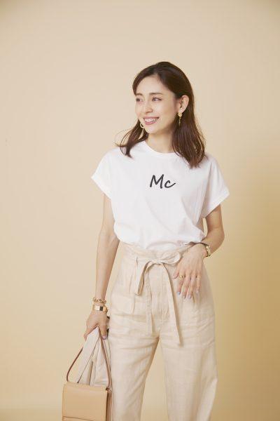 MICANA 【AMERICANA】×【MICA&DEAL】ロゴTシャツ ¥8,000+税