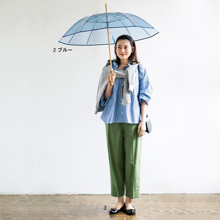 2.Traditional Weatherwear BAMBOO VINYL UMBRELLA ブルー/3.Traditional Weatherwear BALLET RAIN SHOES