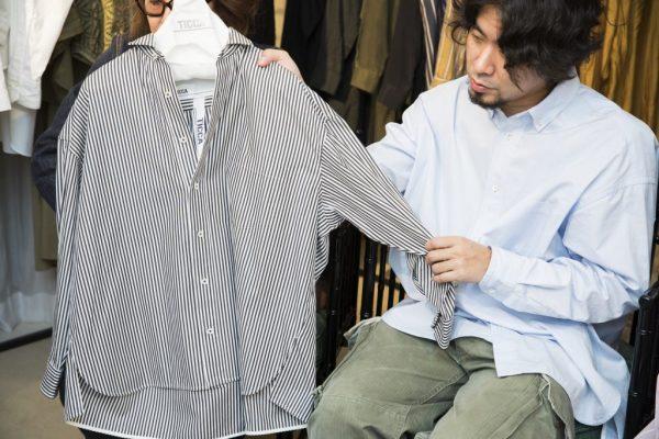 TICCAのスクエアビッグシャツ【STANDARD BOOK】