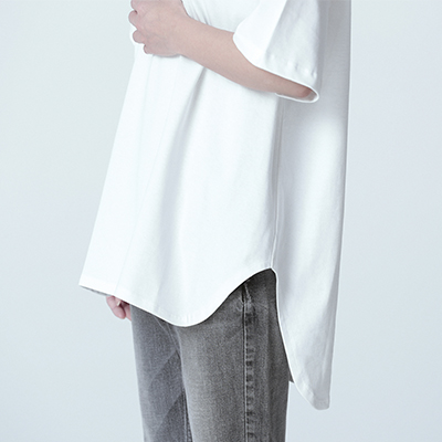 ADAM ET ROPE'/【WEB限定】BIG Tee/¥8,000