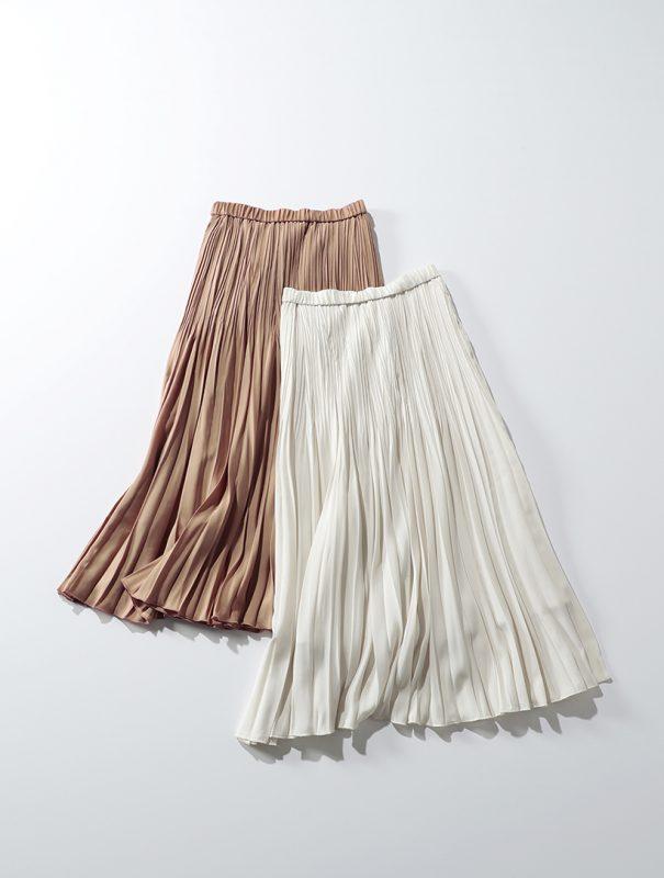 suadeo/【洗える】グラデーションプリーツスカート/¥15,000