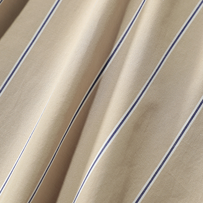 suadeo/【AMERICANA】コラボレーション バンドカラーマルチストライプ シャツプルオーバー/¥23,000