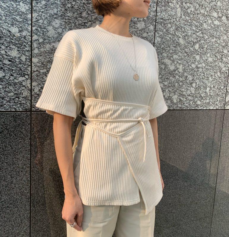 Baserange Shaw Tee - Fleece RIB ¥12,000+税