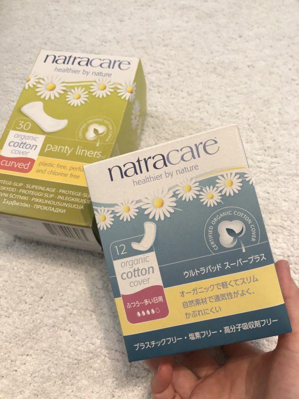 natracare/ナトラケア ウルトラパッド スーパープラス (ふつうの日~多い日用・羽無22cm)/¥680+税
