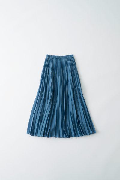 12closet スパンローンプリーツスカート(ロング丈) ¥12,800+税