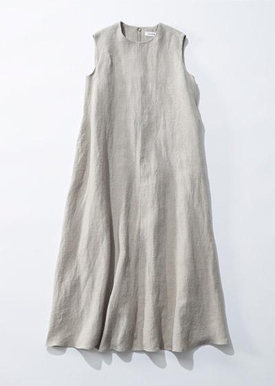 SACRA GUNNY CLOTH リネン100%ワンピース