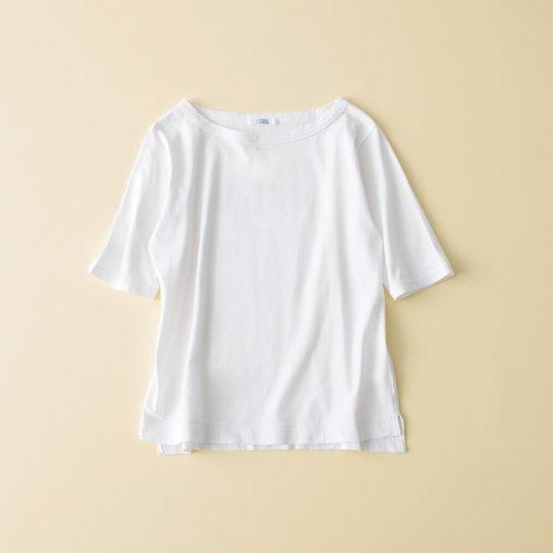 FABRIQUE en planete terre 【玄長なおこさんコラボ】 ボートネックTシャツ ¥5,900+税