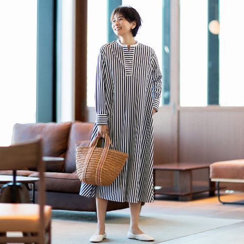 M・fil/クレリックテントドレス/¥42,000+税