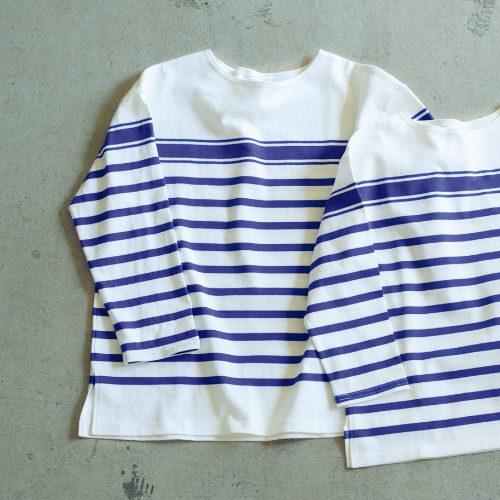 HUG O WaR/ボーダーロングTシャツ(M)/¥12,000+税
