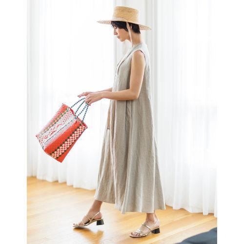 SACRA/GUNNY CLOTH リネン100%ワンピース/¥37,000+税
