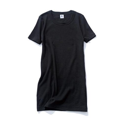PETIT BATEAU/クルーネック半袖Tシャツ/¥2,500+税