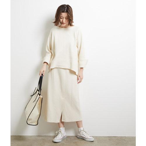 ROPE' PICNIC/【セットアップ対応】カットトップス・スカート 各¥3,990+税