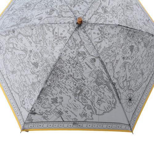 manipuri/Folding umbrella 別注折畳傘(MAP柄アップ)