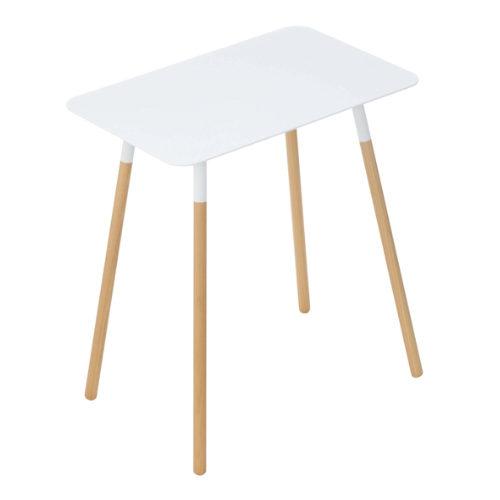 PLAIN サイドテーブル プレーン角型 ホワイト ¥6,300+税