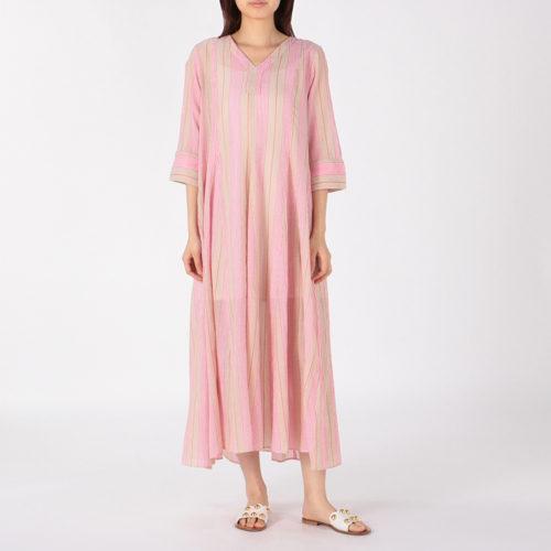 ne Quittez pas/VOILE STRIPE V NECK DRESS/¥19,000  → ¥16,150+税(15%OFF)