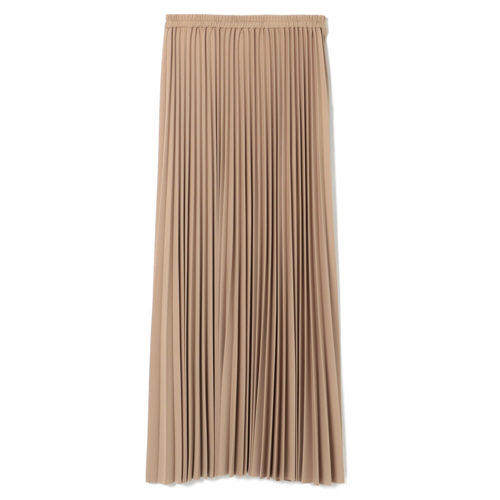 FLORENT/強撚スムースプリーツスカート/¥24,000+税