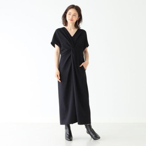 Demi-Luxe BEAMS/フロントクロス ワンピース/¥26,000+税