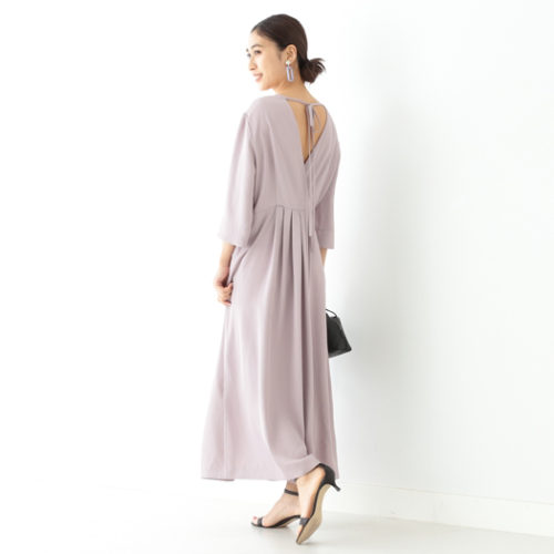 Demi-Luxe BEAMS/バッククロス ワンピ―ス/¥28,000+税