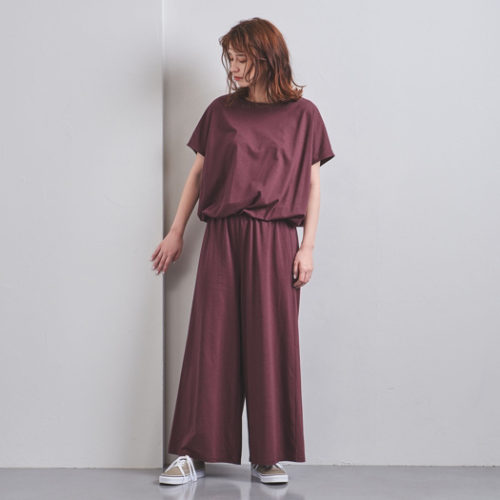 UNITED ARROWS/<STYLE for LIVING> フレンチスリーブ オールインワン†/¥12,000+税